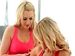 Sensual lesbian massage leads to orgasm 15