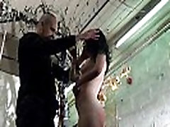 Bizarre humiliation and strict whipping of amateur slavegirl Fae Corbin in kinky