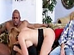 Mom makes son watch her get fucked by big black cock 430