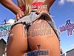 Busty Blonde Teen Upskirt. Voyeur. Ass Exposing. Big Boobs. Hot.