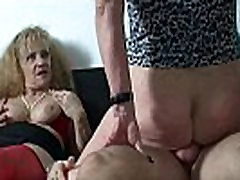 Busty german mature whores sharing cock