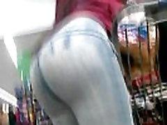 candid-ass-videos-Big-Booty-Latina-Bending-Over-Twerk-Booty-Shake