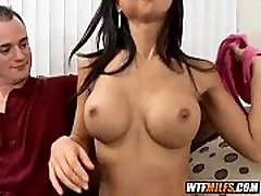 Asian mom gets big cock for her 1 001
