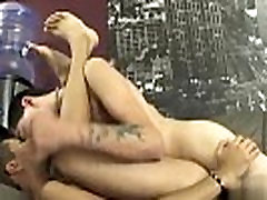 Gay twinks Rad gives Felix a chunk of his lengthy impaler on the