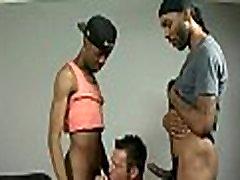Muscular black dudes fuck gay white boys 18