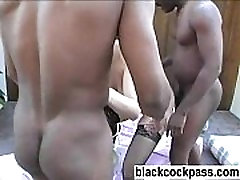 Melanie Jagger becomes an anal whore for blacks