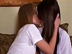 Lesbian Kiss Soft &amp Sensual
