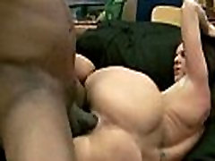 Milf has her FIRST INTERRACIAL Monster Cock 19