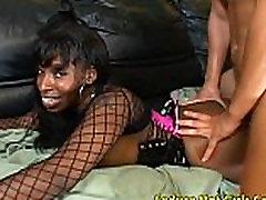 Vanessa Blue - Big Tits Ebony Fucked Hard From Behind
