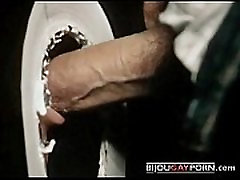 Trippy Glory Hole Scene from Vintage Gay Porn ROUGH CUT 1985