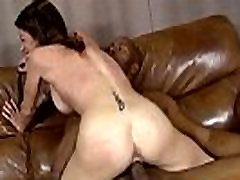 Mature lady gags and gets banged by a black cock 3