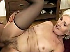 Blonde mature granny hottie slammed hard
