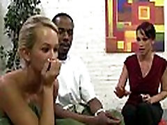 BBC in tight wet pussy - hardcore interracial fucking 19