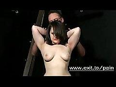 Bondage Spanking and pain for sub slut Sandy