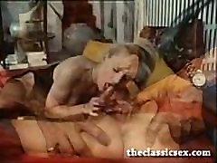 Hot retro porn star fucked