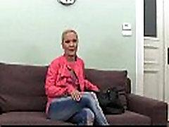 Casting HD Mature amateur takes frantic facial
