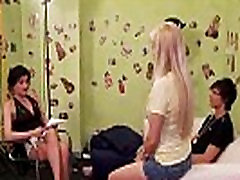 Casting couch femdoms love making him strip