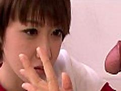 Young asian schoolgirl loves tasting teachers cock