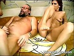 2 hot mature ladies sharing one guy