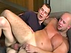 Horny muscular hunk getting fucked hard bareback