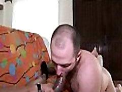 Giant Black Cock - Gay InterRacial Hardcore Fuck - clip 09