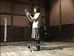 Asian actors fucks at the theatre scene