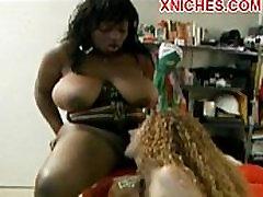 Busty mature ebony slut sucking pussy hot lesbians