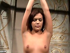 Amina and Kelly Roshe in cool lesbian BDSM