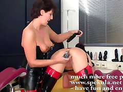 Perverted lesbos in latex