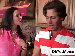 MILF Kendra joins the teens in threesome