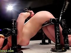 Immobilized gagged sub whipped