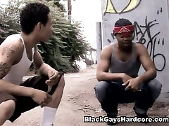 Pin Up Boi and Tazz in Gay Black Video