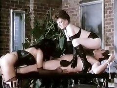 Veronica Hart, Lisa De Leeuw, John Alderman in classic porn video