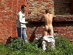 Exotic male pornstar in crazy spanking, masturbation gay sex clip