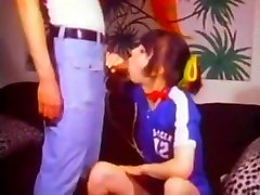 Vintage Hairy girl Fucked In Soccer Uniform