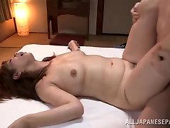 Chisato Shohda hot mature Asian babe gets hot creamed pussy