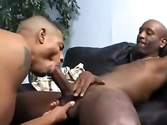 Nasty Black Gay Dude Takes A Huge Black Dick In His Asshole