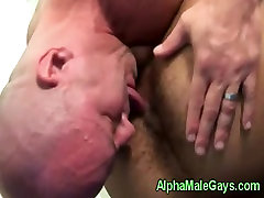 Gay interracial rimming and bj action
