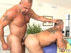 Hot massage for stud