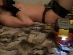 Russian amateur girl estim. E-stim. Spanking. Electro play.