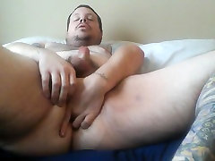 Chub Bear Anal Play Jack off In Bowl Part One