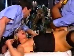 Laura angel doble in fatastick black stockings