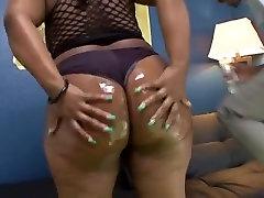 Amazing Black and Ebony video with BBW scenes