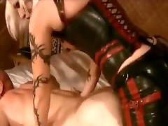 BDSM Mistress Fucks Her Slaves Asshole