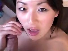 Best pornstar Lena Lang in exotic asian, blowjob porn scene
