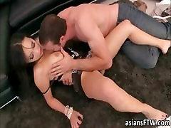 Hot Asian pornstar Katusni fuck n facial
