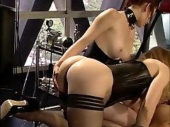 Fabulous pornstars Nina Hartley, Kelle Marie and Claire Adams in horny dildostoys, bdsm xxx movie