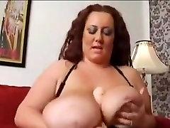 Fat Mature Babe Masturbating
