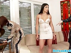 Euro glamour babe ass fisted to repay debt