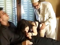 XXX orgy in a doctor's office